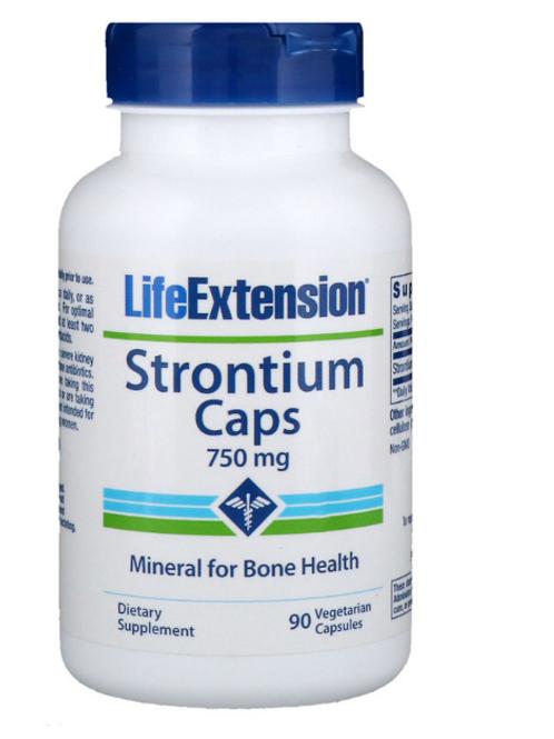 LifeExtension Strontium 750mg