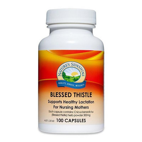 Natures Sunshine Blessed Thistle 325mg| 100 Capsules