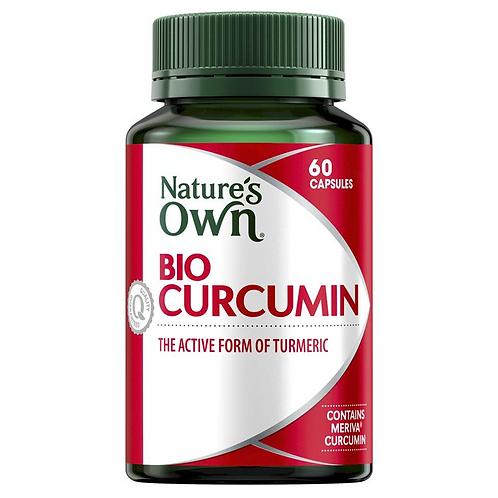 Nature's Own Bio-Curcumin| 60 Capsules