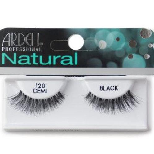 Ardell Natural Lashes| 120 Demi Black