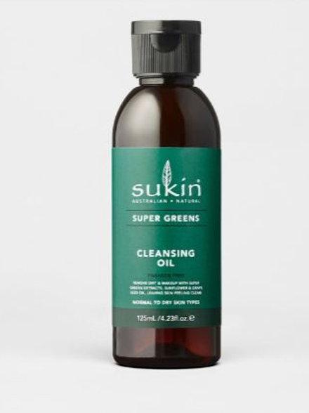 Sukin Cleansing Oil| Super Greens 125mL