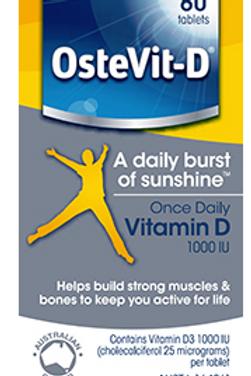OsteVit-D Vitamin D3| 60 tablets