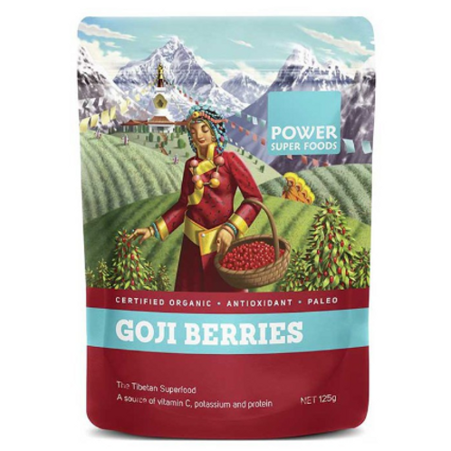 Power Super Foods| Goji Berries 125g