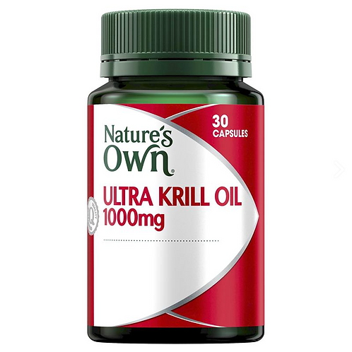 Nature's Own Ultra Krill Oil 1000mg| 30 Capsules