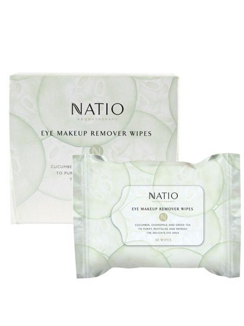 Natio Eye Makeup Remover Wipes