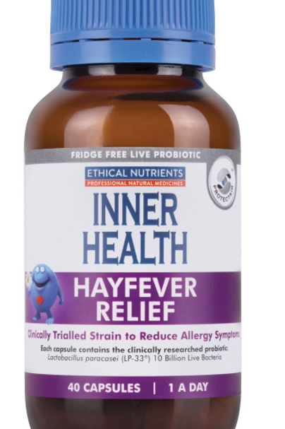 Ethical Nutrients Inner Health Hayfever Relief| 40 capsules