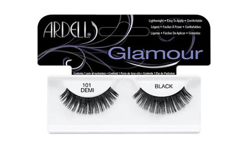 Ardell Glamour Lashes| 101 Demi Black