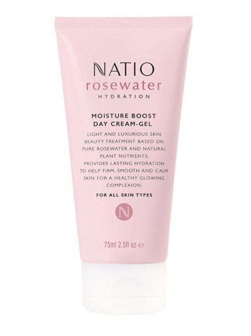 Natio Rosewater Hydration Moisture Boost Day Cream-Gel