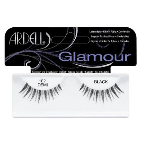 Ardell Glamour Lashes| 102 Demi Black