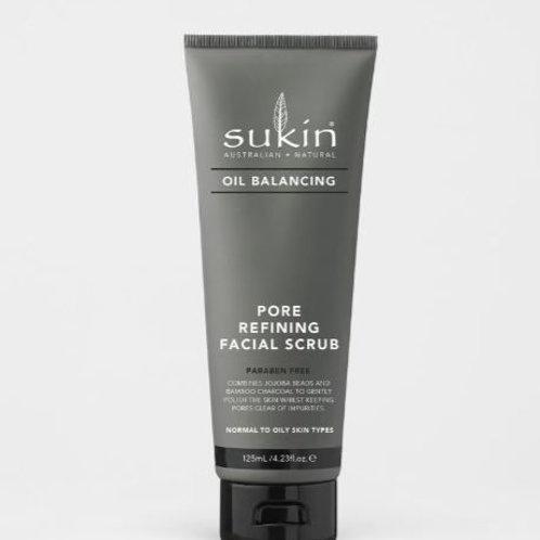 Sukin Pore Refining Facial Scrub| Oil Balancing 125mL