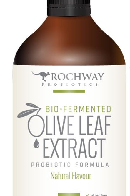 Rochway Olive Leaf Extract| Natural Flavour 500mL