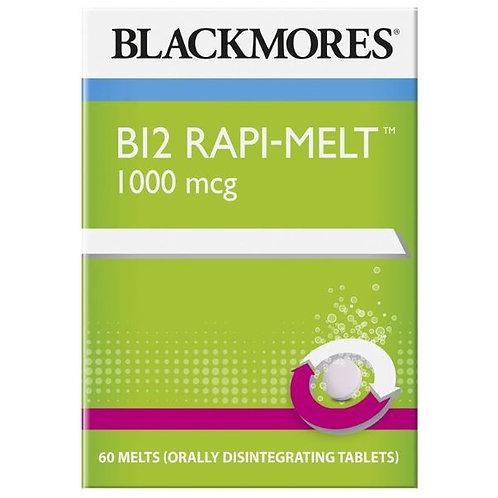 Blackmores B12 Rapi-Melt 1000mcg 60 Tablets