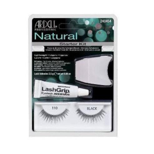 Ardell Natural Lashes| 110 Black Starter Kit