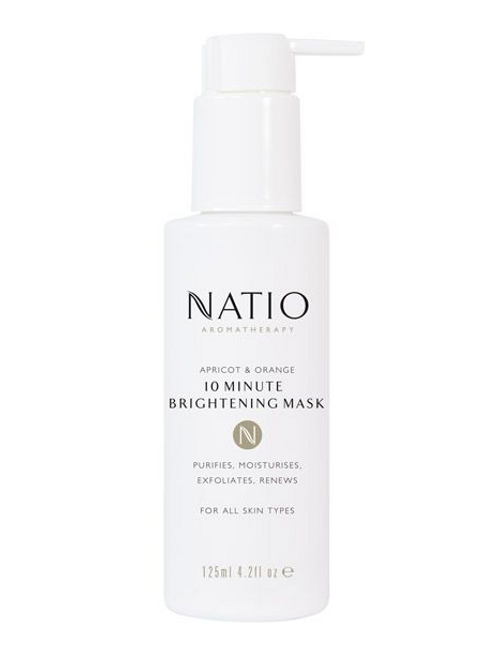 Natio Apricot & Orange 10 Minute Brightening Mask