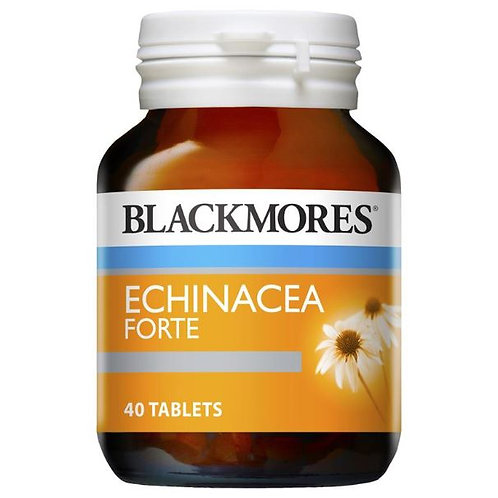 Blackmores Echinacea Forte 3000mg 40 Tablets