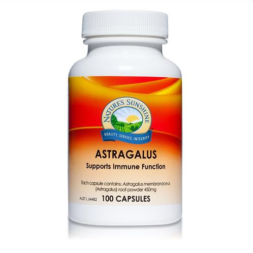 Natures Sunshine Astragalus| 100 capsules