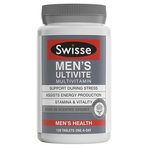 Swisse Men's Ultivite|120 Tablets