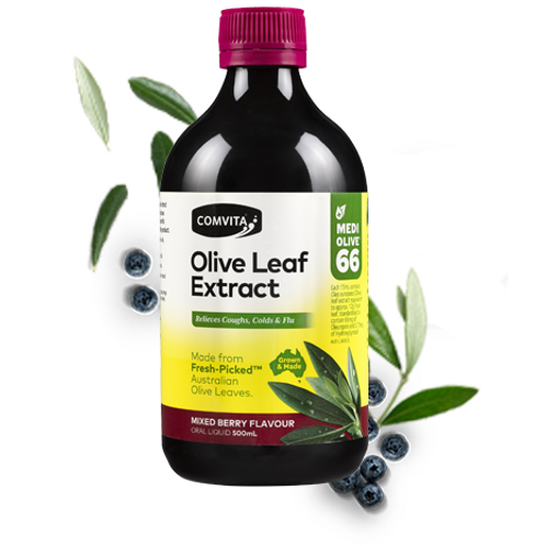 Comvita Olive Leaf Extract| Mixed Berry Flavour 500ml