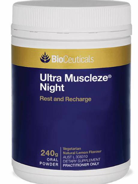 BioCeuticals Ultra Muscleze Night