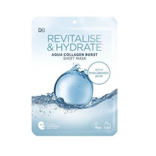 Designer Brands Revitalise & Hydrate Vitamin Burst Sheet Mask