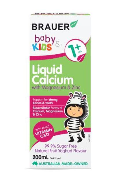 Brauer Baby & Kids Liquid Calcium with Magnesium & Zinc