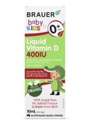 Brauer Kids Liquid Vitamin D 400IU