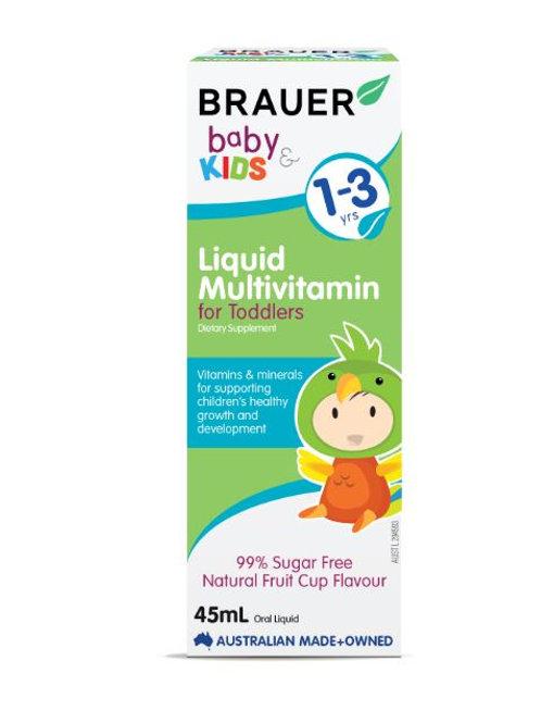 Brauer Baby & Kids Liquid Multivitamin for Toddlers
