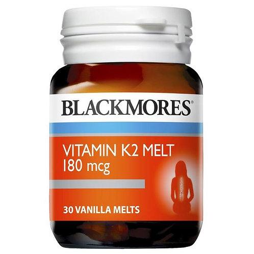 Blackmores K2 180mcg 30 Melts