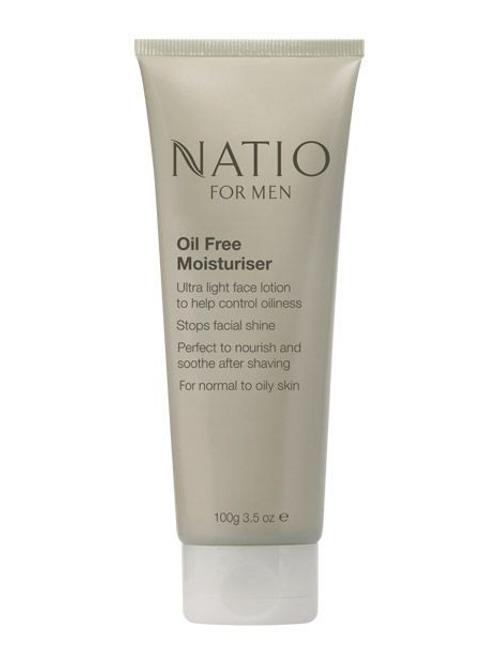 Natio For Men Oil Free Moisturiser