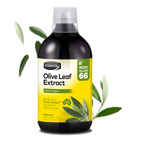 Comvita Olive Leaf Extract| Natural Flavour 500mL
