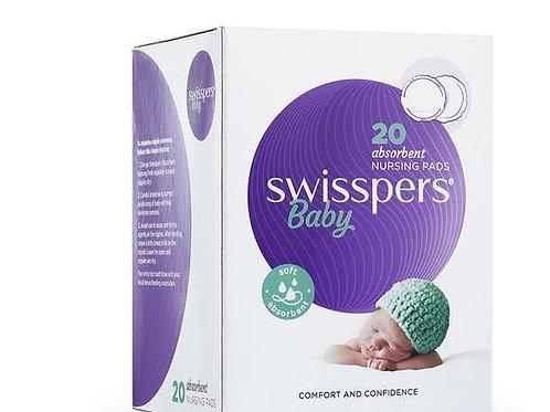 Swisspers Nursing Pads| 20 Pack