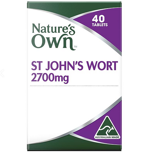 Nature's Own St Johns Wort 2700mg| 40 Tablets