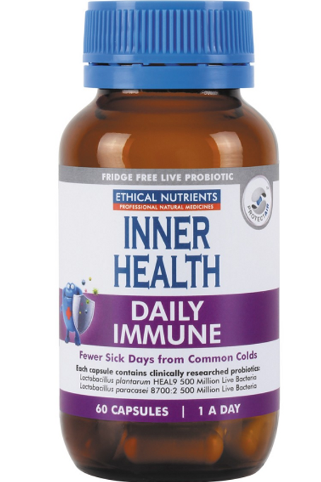 Ethical Nutrients Inner Health Daily Immune| 60 capsules