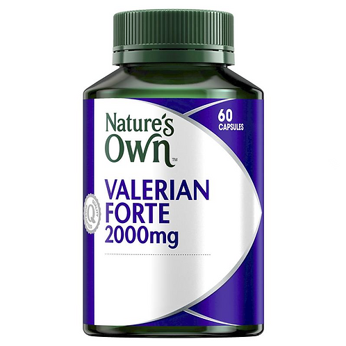 Nature's Own Valerian Forte 2000mg| 60 Capsules