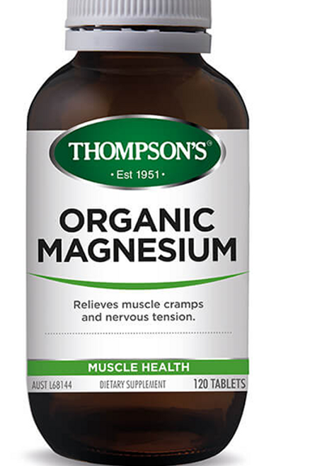 Thompsons Organic Magnesium Tablets