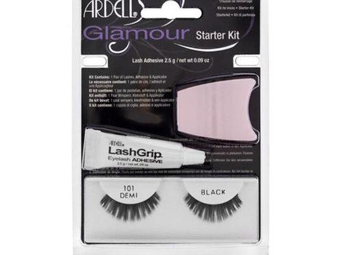 Ardell Glamour Starter Kit| 101 Demi Black