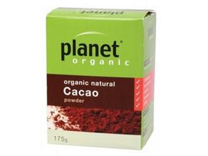 Planet Organic Cacao Powder| 175g