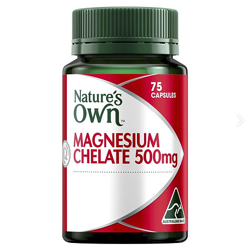 Nature's Own Magnesium Chelated 500mg