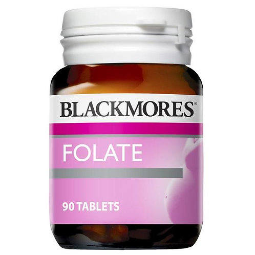 Blackmores Folate 500mcg 50 Tablets