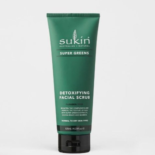 Sukin Detoxifying Facial Srub| Super Greens 125mL