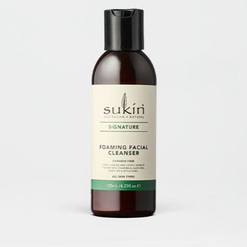 Sukin Foaming Facial Cleanser Cap  Signature 125mL