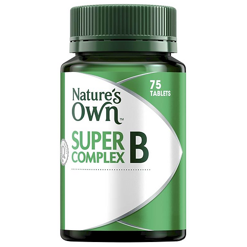 Nature's Own Super B Complex| 75 Tablets