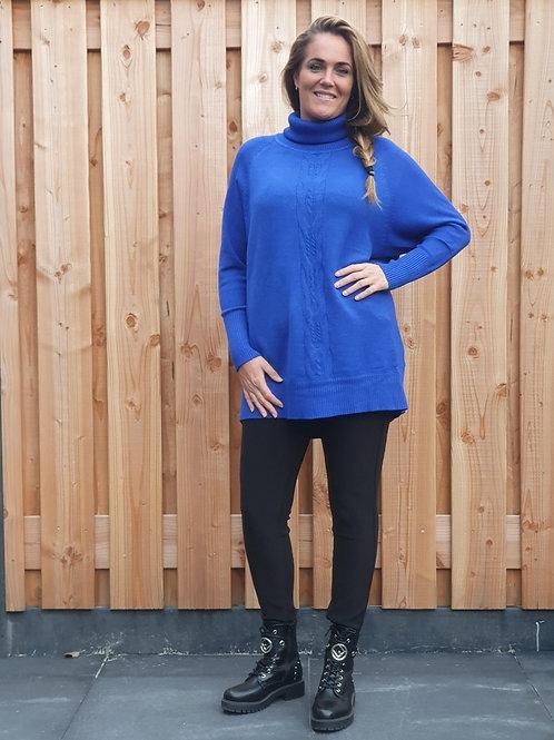 Sweater Maxi Chill Blue