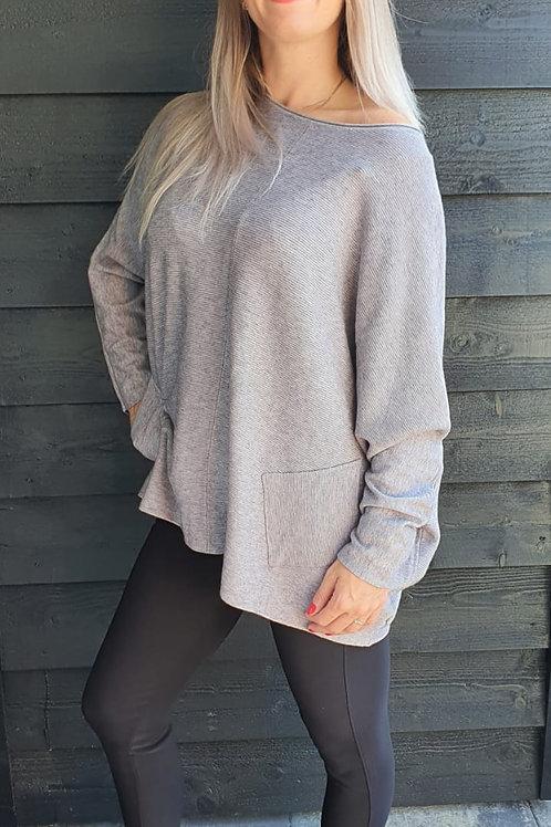 Casual Sweater Grey