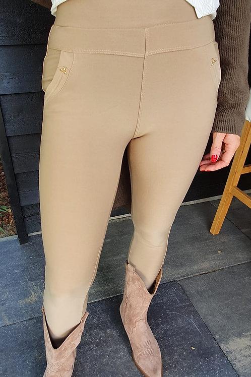 Pants Stretch Beige