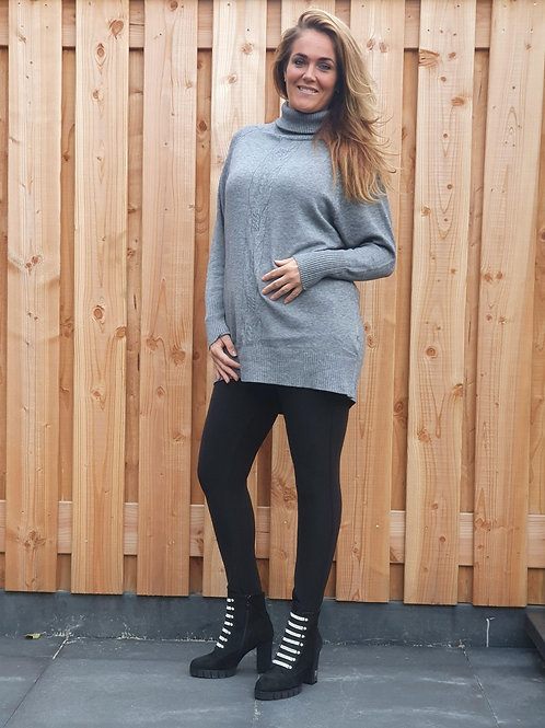 Sweater Maxi Chill Grey