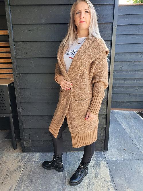 Vest Comfy Brown