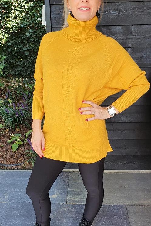 Sweater Maxi Chill Yellow