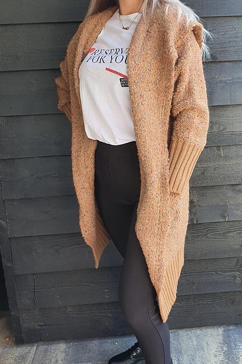Vest Comfy Brown Multi-Color