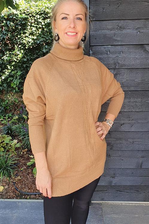 Sweater Maxi Chill Brown